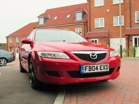 Mazda 6 petrol 2.0 ts low mileage 04 plate clean family car perfect runner