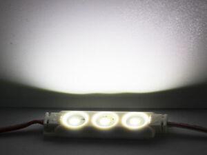 5630 LED Module 3 SMD Strip Streifen Wasserdicht IP68 Leiste kaltweiß DC 12V