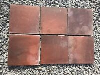 6 Quarry Tiles free to collector