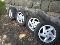 FORD ESCORT RS TURBO WHEELS AND TYRES