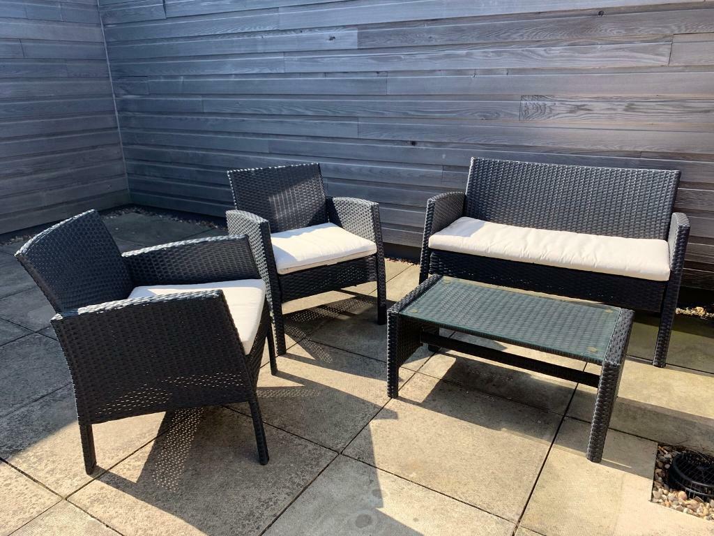 4 Piece Garden Furniture Set In Leeds