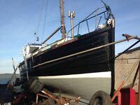 MVF 38ft fishing boat