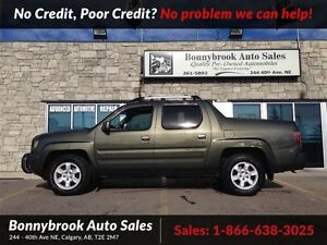 2006 Honda Ridgeline EX-L leather heated seats power sunroof