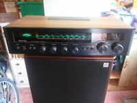 Rotel amp and Omar speakers for sale