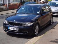 BMW 1 Series 116i SE (1.6) 2009 59 Plate (5 Door) Black Automatic Very Low Mileage (37000) Long MOT