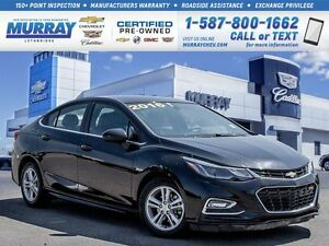 2016 Chevrolet Cruze LT Auto**Rare Vehicle!  One Owner!**