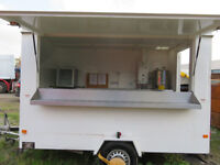 11 x 6 ft 2008 Wilkinsons Atlanta 350 Catering Trailer for Sale