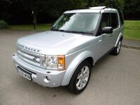 Land Rover Discovery 3 TDV6 HSE FULL SERVICE HISTORY NEW CAMBELT. (zambezi silver met) 2008