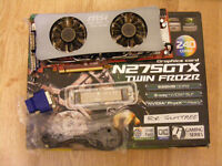MSI (nVidia) GTX275 graphics card for sale.