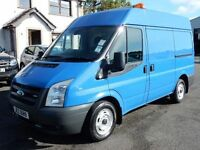2006 ford transit swb medium roof 95000 miles, psvd march 2017 1 owner from new