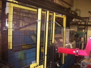 Robot H-bot CNC Lathe Gantry Loader