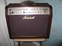 MARSHALL AS100D ACOUSTIC GUITAR AMP.