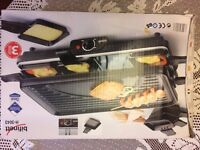 Bifinett Raclette Removable Grill