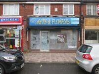 ***SHOP TO LET***STRATFORD RD - SHIRLEY***APPROX 800 SQ FT***A1 LICENSE**NEWLY FURBISHED***MUST VIEW