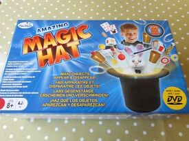 HUGE Childrens Magic Playset with Top Hat+Wand+Rabbit+DVD - cash on collection Gosport Hampshire
