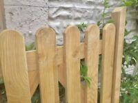 Solid Oak Cottage Garden Gate
