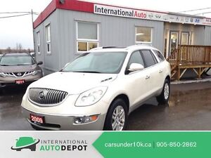 2009 Buick Enclave CX AWD / 7 PASS / LEATHER / MOONROOF / BLUETO