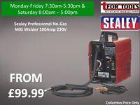 Sealey Professional No-Gas MIG Welder 100Amp 230V