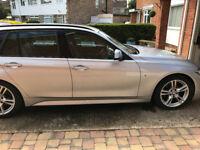 URGENT! BMW 320d M Sport Touring - auto - sat nav - leather - FBMWSH- excellent condition