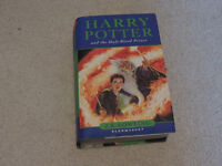 A First Edition Hardback Book of 'Harry Potter and the Half-Blood Prince' by J.K Rowling, 2005