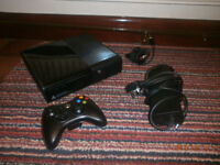 Xbox 360 250GB with one controller and all the cables