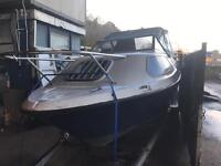 18ft Weekender boat 25hp outboard Px welcome