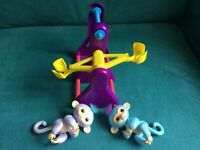 Fingerlings with playframe