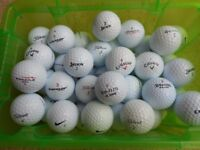 Twenty Five (25) Lightly Used Golf Balls Various Makes all VGC - collection from Gosport Hampshire