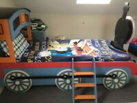 Thomas Tank Engine Single bed and mattress