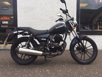 Lexmoto ZSB 125 Cruiser low seat height 125cc Flexible Payment Terms & Nationwide Delivery