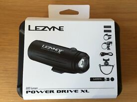 Lezyne Power Drive XL LED Loaded Pack £70 each per pack, 3 Available