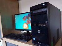 HP Pro 3500 Desktop PC - Intel i3 3.30GHz, 4GB, 500GB, Win 8 Pro