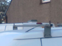 SET OF 3 UNIVERSAL ROOF BARS FOR TRANSIT VAN