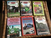 6 old Thomas The Tank Engine Books (1984-1994)