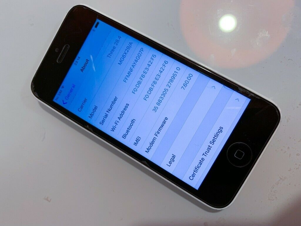 Apple iPhone 5c - White Unlocked | in Southside, Glasgow | Gumtree