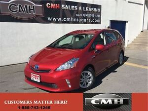 2012 Toyota Prius v HYBRID LEATH CAM ALLOYS *CERTIFIED*