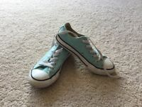 Girls converse shoes size 12.5