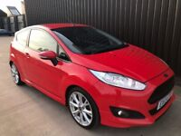 2013 Ford Fiesta 1.6 TDCi Zetec S 3dr 2 Keys, 1 Owner From New, Huge Spec,Leather, Finance Available