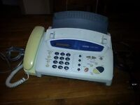 Brother Fax-T84 Fax Machine and Phone