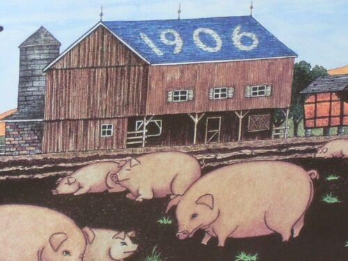 Pig / Hog Sign -- FARMER