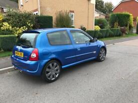 54plate Renault Clio sport 182 clean example ,1st to view will buy