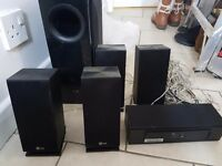 Lg Impedance Speaker System & Subwoofer £50