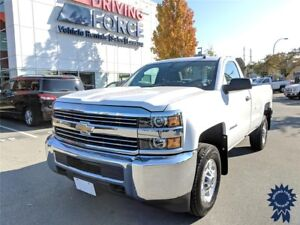 2017 Chevrolet Silverado 2500HD WT Regular Cab 4X4 w/8' Box