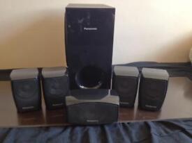 Panasonic 5+1 speakers for home cinema