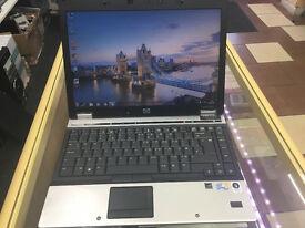WEBCAM 4GB LAPTOP HP ELITEBOOK 6930P LAPTOP. wireless. DVD.RW WINDOW 7. EXCELLENT CONDITION