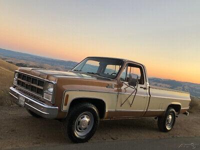 1980 Chevrolet C/K Pickup 2500 Sierra Classic 1980 GMC C25 Sierra Classic 454 original paint rust free survivor no reserve