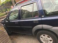 Land Rover Freelander 02 plate