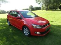 VOLKSWAGEN POLO 1.2 MATCH EDITION TDI 3d 74 BHP (red) 2013