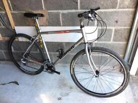 Bianchi Spillo Rubino Hybrid Bike 55cm