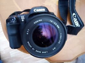 Canon OES 10D with 19 - 35mm lens, bag, 2 batteries and charger